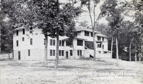 Dormitory, Assembly Grounds, Lake Koronis, Paynesville Minnesota, 1931
