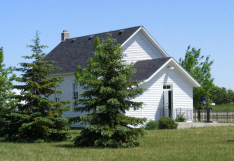 Historic building at Paynesville Area Museum, Paynesville Minnesota, 2009