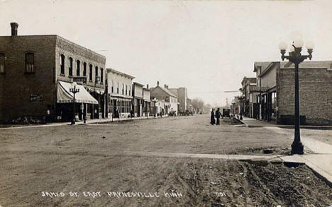 James Street East, Paynesville Minnesota, 1910's