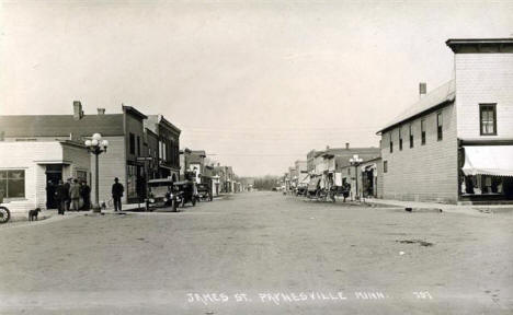 James Street, Paynesville Minnesota, 1910