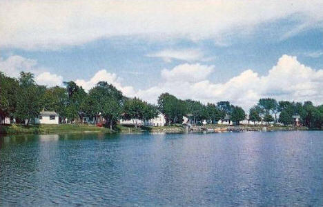 Cross Point Resort, Pelican Rapids Minnesota, 1950's