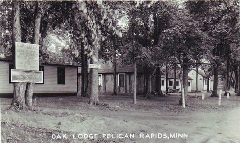 Oak Lodge, Pelican Rapids Minnesota, 1920's?