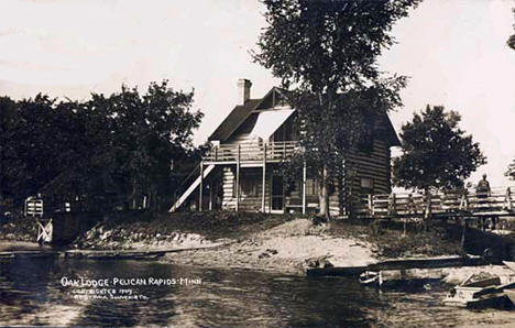 Oak Lodge, Pelican Rapids Minnesota, 1909