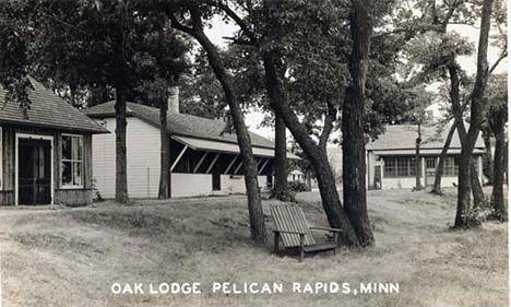 Oak Lodge, Pelican Rapids Minnesota, 1940