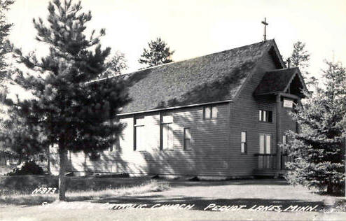 St. Alice Catholic Church, Pequot Lakes Minnesota, 1940's