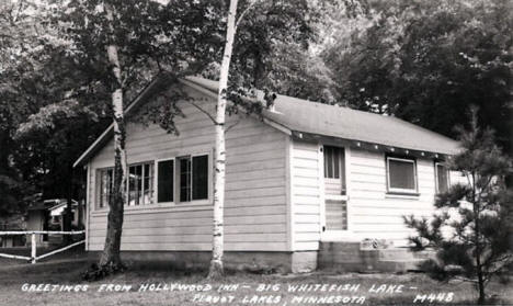 Hollywood Inn on Big Whitefish Lake, Pequot Lakes Minnesota, 1940's