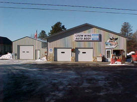 Crow Wing Auto Body, Pequot Lakes Minnesota
