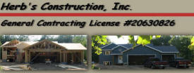 Herb's Construction, Inc., Pequot Lakes Minnesota