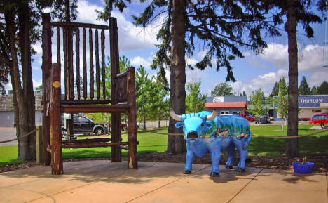 Paul Bunyan's Chair, Bobber Park, Pequot Lakes Minnesota, 2008