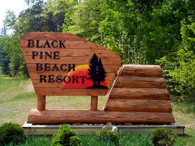 Black Pine Beach Resort, Pequot Lakes Minnesota
