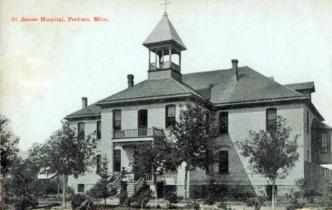 St. John's Hospital, Perham Minnesota, 1912