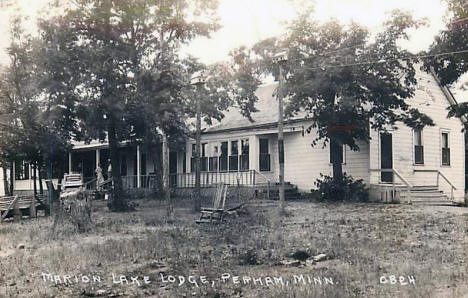 Marion Lake Lodge, Perham Minnesota, 1939