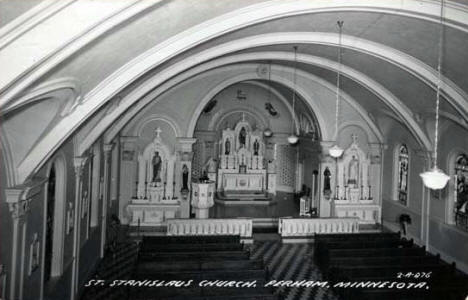 St. Stanislaus Church, Perham Minnesota, 1950's