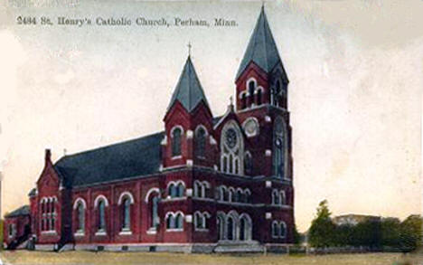 St. Henry's Catholic Church, Perham Minnesota, 1911