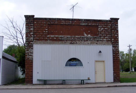 Building on Main Street, Perley Minnesota, 2008