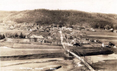 General view, Peterson Minnesota, 1931