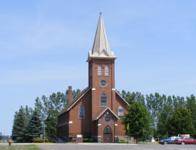 St. Stanislaus Kostka Catholic Church, Bowlus Minnesota