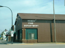 Remer Fire Hall, Remer Minnesota