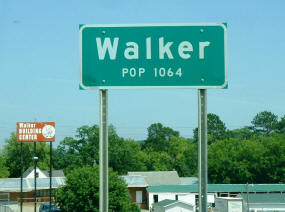 Walker Minnesota Sign