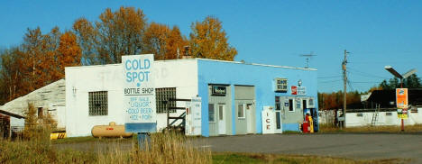Cold Spot Bottle Shop & Appliance, Embarrass Minnesota