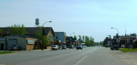 Downtown Remer Minnesota, 2007