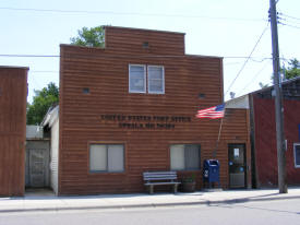 US Post Office, Upsala Minnesota