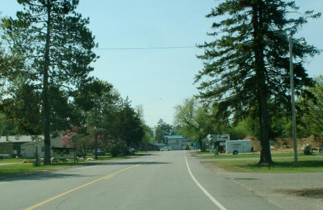 Street Scene along Highway 6 in Emily Minnesota, 2007