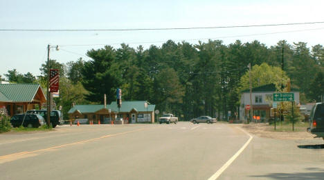 View of Emily Minnesota on County Road 1, 2007