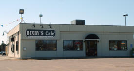 Bixby's Cafe, Grand Rapids Minnesota