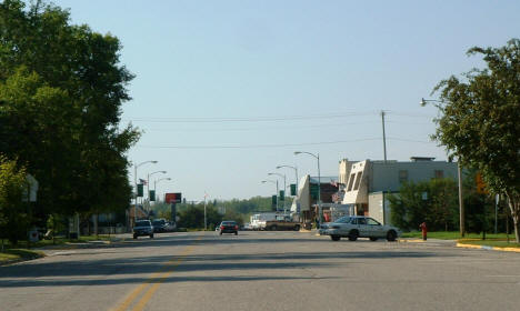 View of Downtown Blackduck Minnesota, 2004