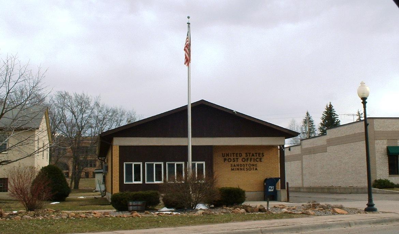 Us Post Office Sandstone Minnesota 2007