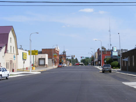 View of Bryant Avenue in Downtown Wadena Minnesota, 2007