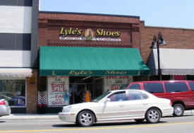 Lyle's Shoes, Wadena Minnesota