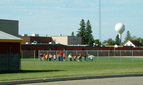 Gym Class at Blackduck School, Blackduck Minnesota, 2004
