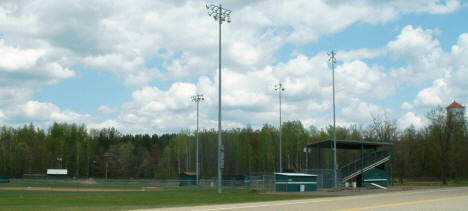Baseball Field at west end of Marble Minnesota, 2003