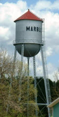 Marble Minnesota Water Tower