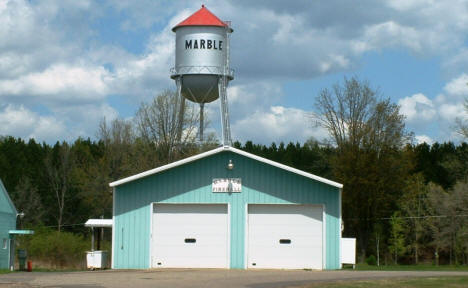 Marble City Fire Hall and Water Tower, Marble Minnesota, 2003