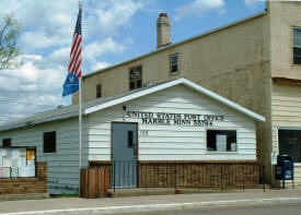 US Post Office, Marble Minnesota