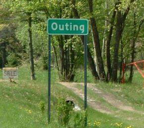 Outing Minnesota Sign