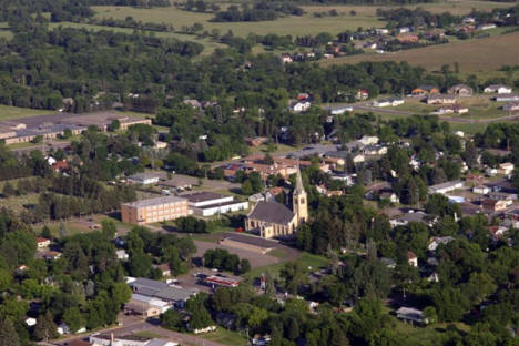 Aerial Photo of Pierz Minnesota, 2006