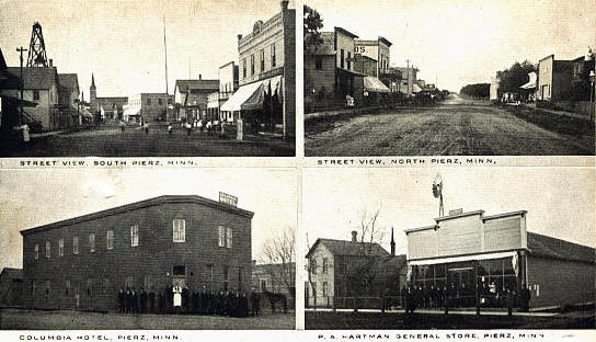 Multiple scenes, Pierz Minnesota, 1908