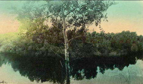 Snake River near Pine City Minnesota, 1912