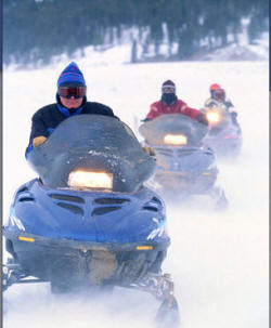 Hinckley Pine City Flames Snowmobile Club
