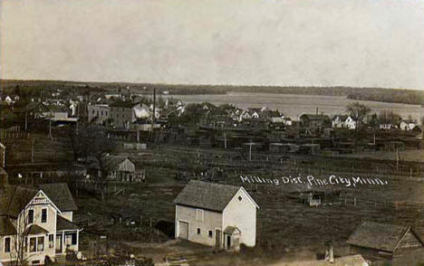 Milling District, Pine City Minnesota, 1910's?