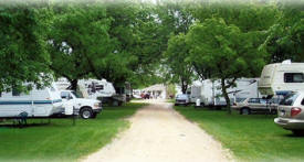 Hidden Meadows RV Park, Pine Island Minnesota