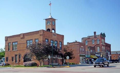 Downtown Pine Island Minnesota, 2009