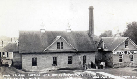 Pine Island Cheese and Butter Factory, Pine island Minnesota, 1929