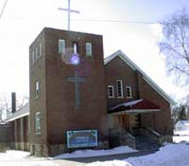 Our Lady of Lourdes Catholic Church, Pine River Minnesota