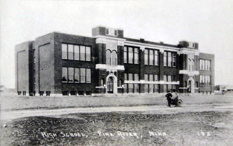 High School, Pine River Minnesota, 1920's?