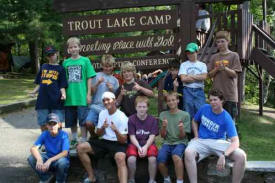 Trout Lake Camp, Pine River Minnesota